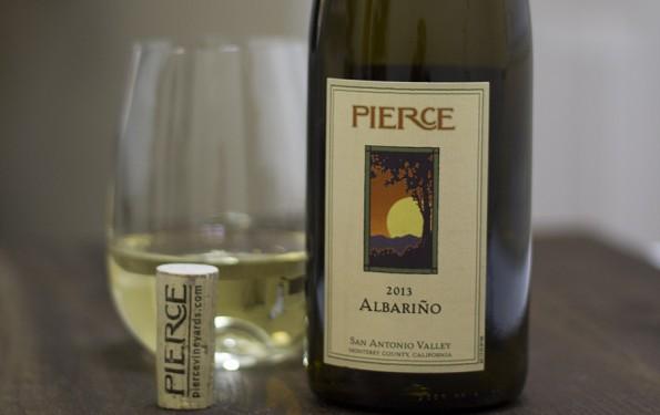 Just Tasted : 2013 Pierce Vineyards Albarino