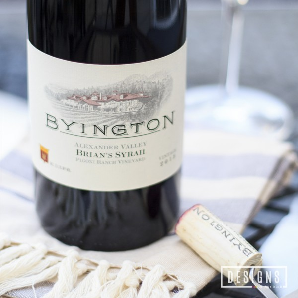 Just Tasted   Byington Vineyards 2013 Brian's Syrah Pigoni Ranch Vineyard