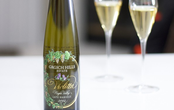 Just Tasted | 2012 Grgich Hills Estate Violetta, Late Harvest | designsofanykind.com