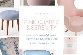 Lust List | Pink Quartz & Serenity