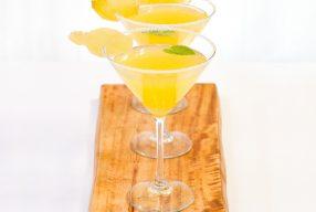 Ginger Orange Martini