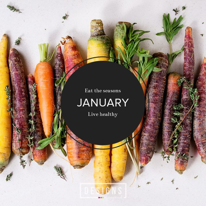 Eat the Seasons | January. Even in the dead of winter, we love eating what's fresh and in season. A round up of delicious and healthy food blogger recipes that capitalize on whats in season for January.
