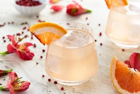 Grapefruit Pink Peppercorn Gin & Tonic