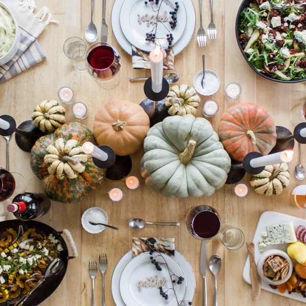 The turkey is roasting, the table is set, and the wine is poured... don't miss out on our 2018 Thanksgiving Menu + Tablescape sneak peak. Read more at www.designsofanykind.com