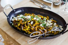 Spiced Honey Roasted Delicata Squash